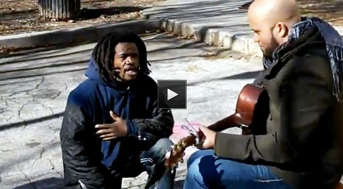 Homeless Man Joins Music Video and Does Something Wonderful – Carlos Whittaker