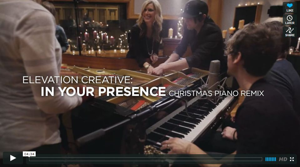 Elevation Creative: In Your Presence (Christmas Piano Remix)