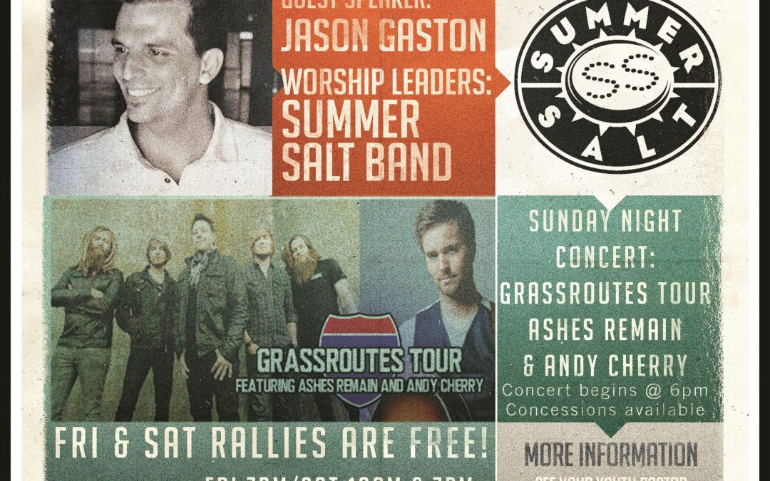 Update on Grassroutes Tour Sunday Night Impact