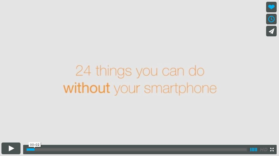 24 Things You Can Do Without A Cell Phone