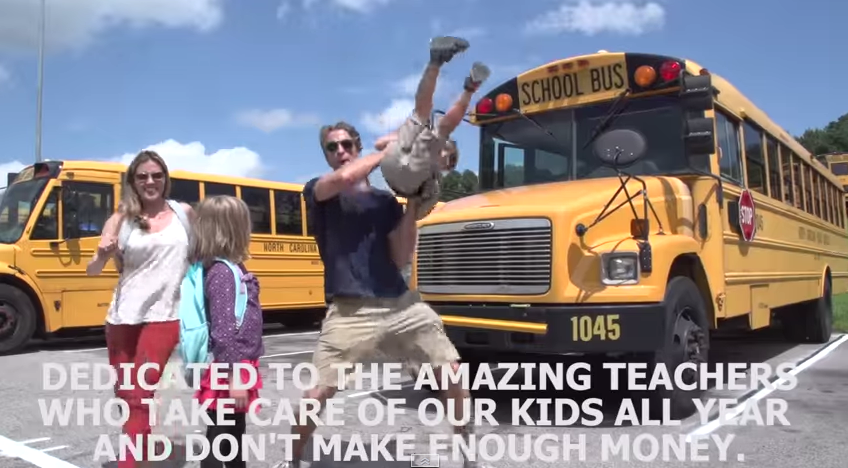 The Holderness Family Goes Viral Yet Again with Baby Got Class – A Back To School Parody