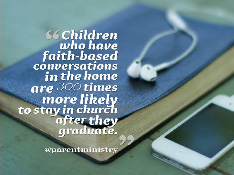 Parent Child Faith Based Conversations