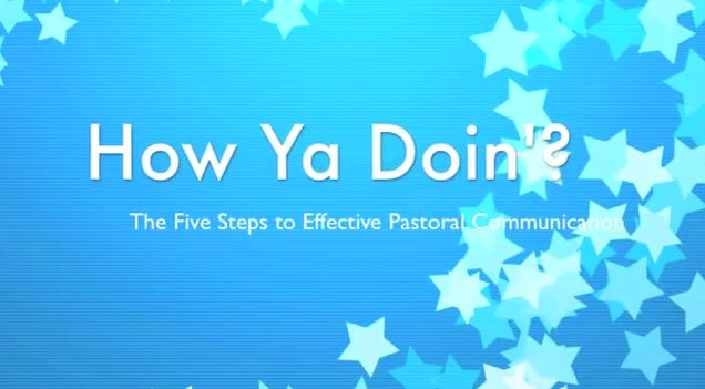 5 Steps to Better Pastoral Communication