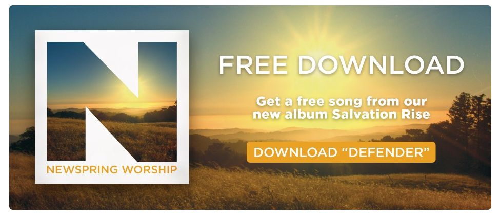 NewSpring Church has a FREE MP3 Download from NewSpring Worship Salvation Rise