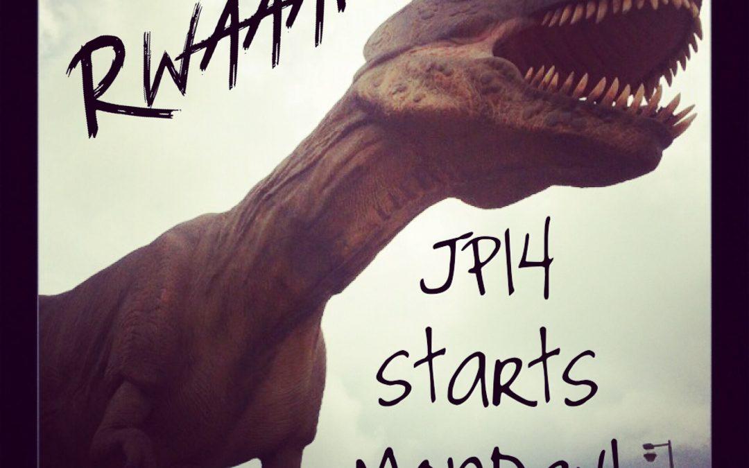 JP14 begins on Monday!