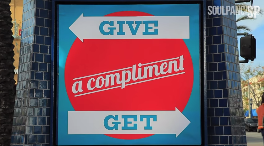 Give A Compliment Get A Compliment Video Melts The Iciest Of Hearts