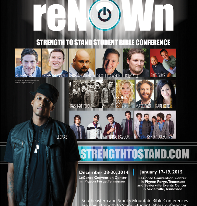 Strength To Stand Student Conference – January 17-19 2015 – ReNOWn