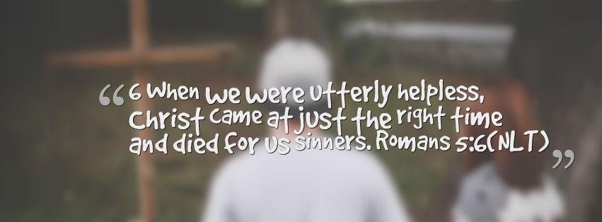 Falling Plates – Romans 5:6-11 Lesson